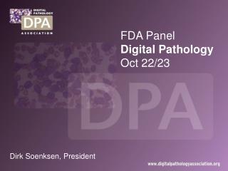 FDA Panel Digital Pathology Oct 22