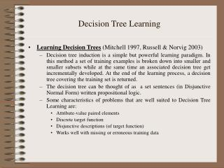 Choice Tree Learning