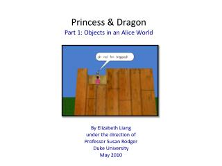 Princess Dragon Part 1: Objects in an Alice World