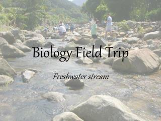 Science Field Trip