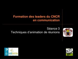 Development des pioneers du CNCR en correspondence