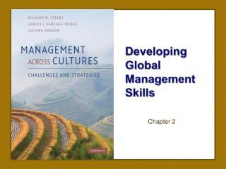 Creating Global Management Skills