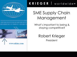 SME Supply Chain Management