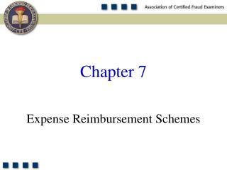 Cost Reimbursement Schemes