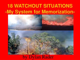 18 WATCHOUT SITUATIONS - My System for Memorization-