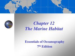 Part 12 The Marine Habitat