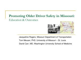 Advancing Older Driver Safety in Missouri: Education Outcomes