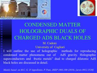 Dense MATTER HOLOGRAPHIC DUALS OF CHARGED ADS BLACK HOLES