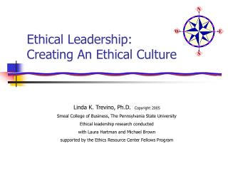 Moral Leadership: Creating An Ethical Culture