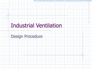 Modern Ventilation