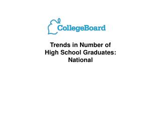 Patterns in Number of High School Graduates: National