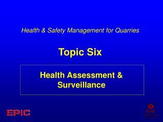 Wellbeing Assessment Surveillance