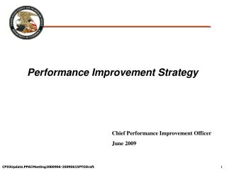 Execution Improvement Strategy