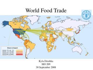 World Food Trade
