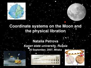 Coordinate frameworks on the Moon and the physical libration