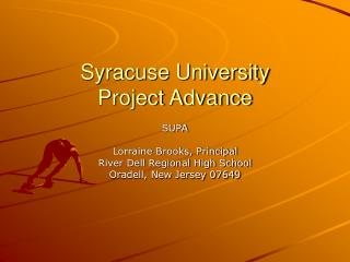 Syracuse University Project Advance