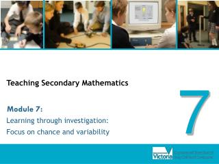 Showing Secondary Mathematics