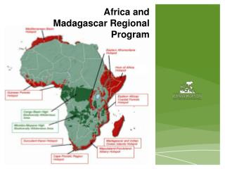 Africa and Madagascar Regional Program