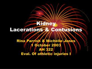 Kidney Lacerations Contusions
