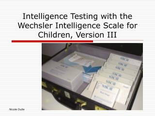 Insight Testing with the Wechsler Intelligence Scale for Children, Version III