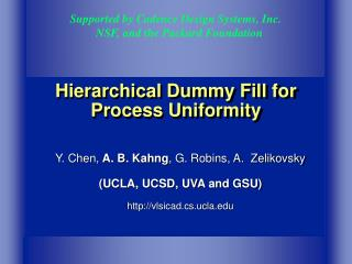 Progressive Dummy Fill for Process Uniformity