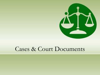 Cases Court Documents