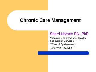 Incessant Care Management