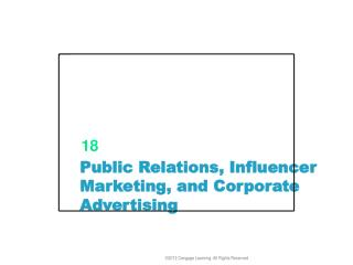 Advertising, Influencer Marketing, and Corporate Advertising