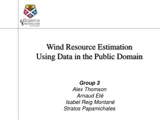 Wind Resource Estimation Using Data in the Public Domain