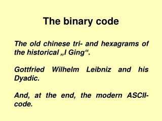 The paired code