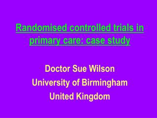 Randomized controlled trials in essential consideration: contextual analysis