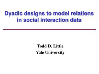 Dyadic plans to model relations in social cooperation information