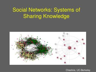 Informal organizations: Systems of Sharing Knowledge