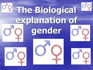 The Biological clarification of sex