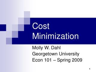 Taken a toll Minimization