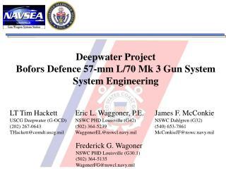 Deepwater Project Bofors Defense 57-mm L