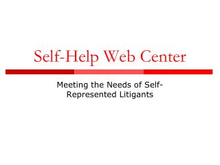 Self improvement Web Center