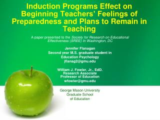 Impelling Programs Effect on Beginning Teachers Feelings of Preparedness and Plans to Remain in Teaching
