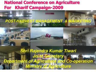 National Conference on Agriculture For Kharif Campaign-2009