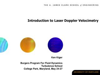 Prologue to Laser Doppler Velocimetry