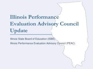 Chief Teacher Evaluation in Illinois: Past, Present Future