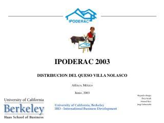 IPODERAC 2003