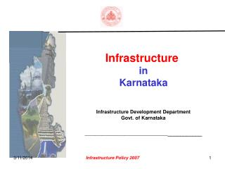 Base in Karnataka Infrastructure Development Department Govt. of Karnataka ___________________________